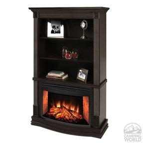 Electric Fireplace With Bookshelves Ideas On Foter