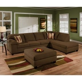 Simmons Upholstery Dawn Sectional Sofa 2 Piece