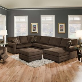 Simmons Sectional Sofas