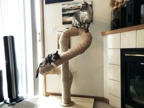 Sisal cat tree 6