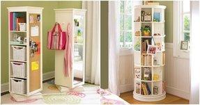 tall corner bookshelf 14 - Corner Bookshelves