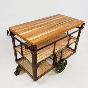 Rolling Butcher Block Cart Foter