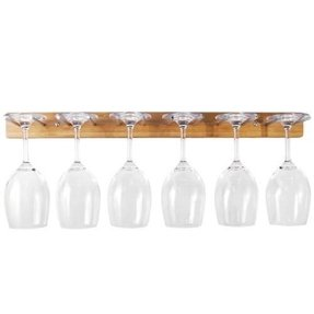 mounted explore foter stemware rack wall wine glass shelf