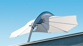 Windproof patio umbrella