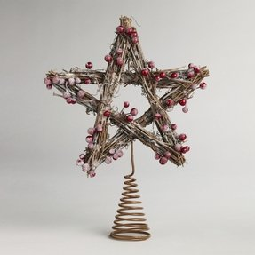 Rustic Star Tree Topper