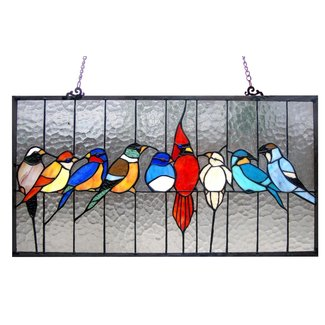 Birds On A Wire Stained Glass Ideas On Foter