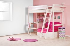 Bunk desk bed