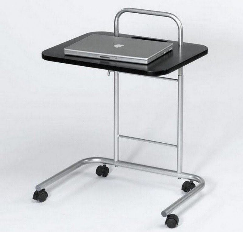 Computer Table On Wheels 3