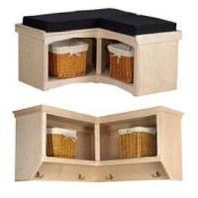Diy corner bench seat with storage