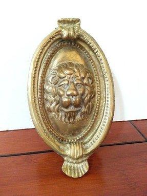 Brass Lion Head Door Knocker Foter