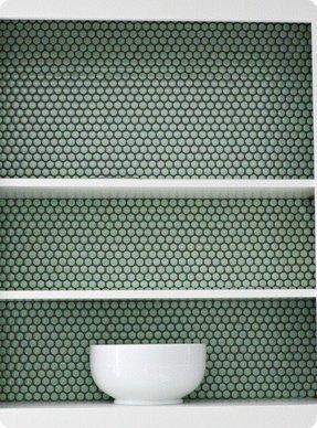 Green Penny Tile Ideas On Foter