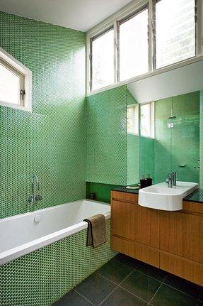 Green Penny Tile Foter