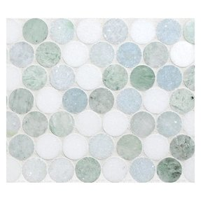 Green Penny Tile Ideas On Foter