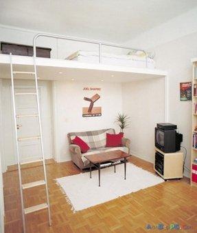 Half Loft Bed Ideas On Foter