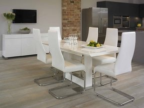 Prime White Laminate Dining Table Ideas On Foter Pdpeps Interior Chair Design Pdpepsorg