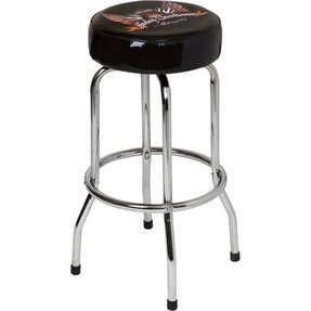 Peachy Harley Davidson Stools Ideas On Foter Squirreltailoven Fun Painted Chair Ideas Images Squirreltailovenorg