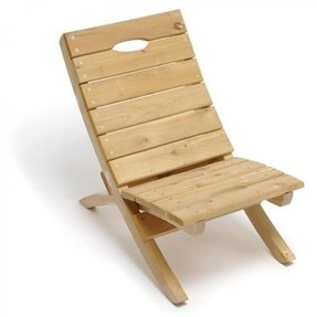 Home jim ryan portable cedar wood chair 500lb weight capacity