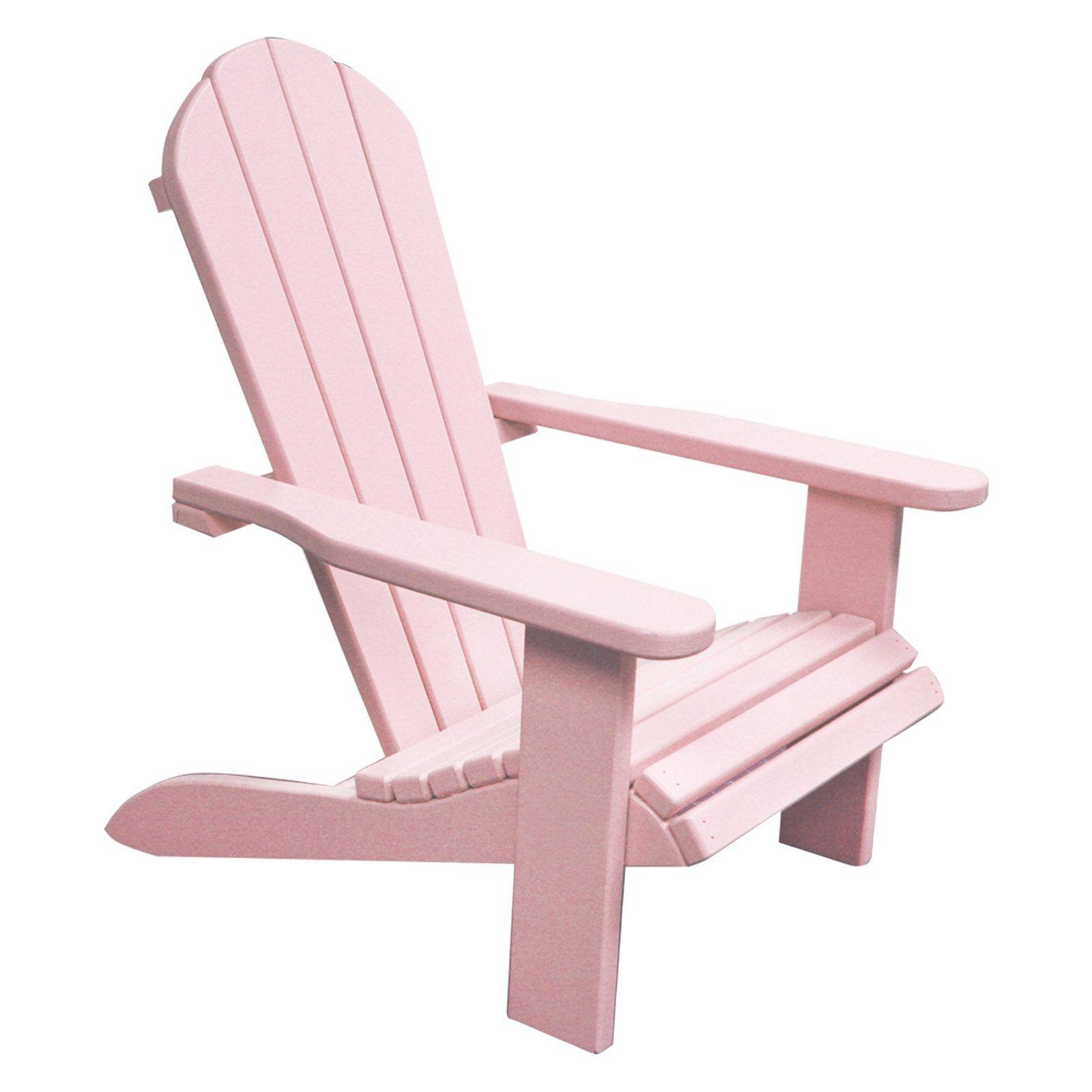 Kids Plastic Adirondack Chair