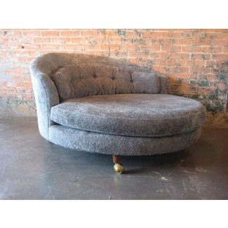 Large Round Lounge Chair 1