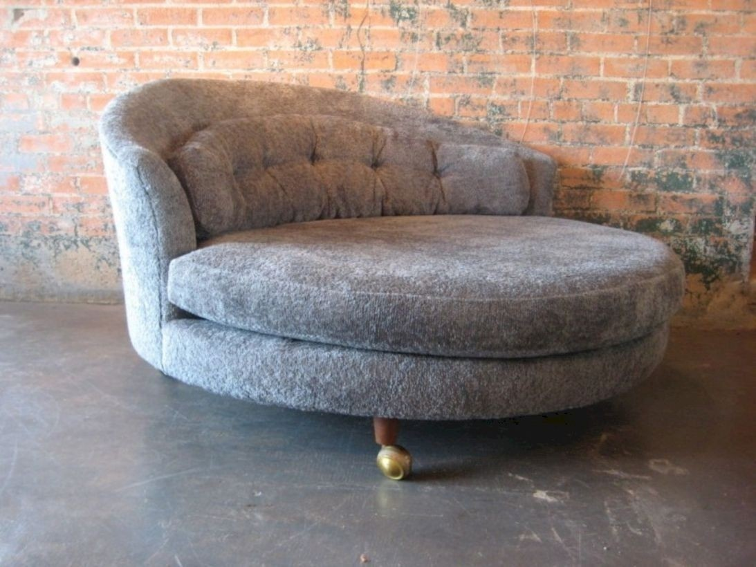 Delightful Large Round Lounge Chair 1