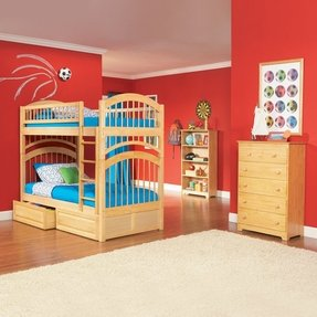 Maple bunk bed 1