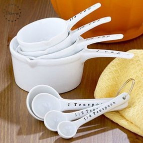 Measuring cups and spoons set 6