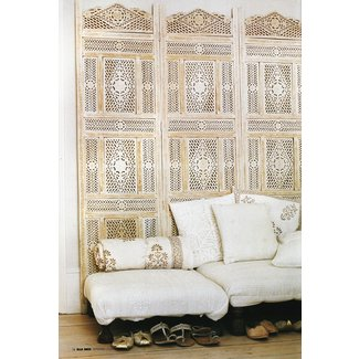 Moroccan folding screen