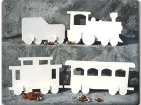 Outdoor christmas train decoration 2