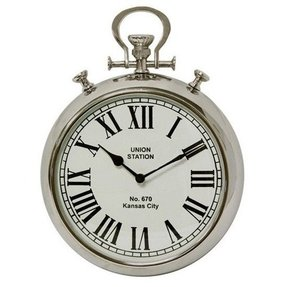 pocket watch wall clock large pocket wall clock foter 11132