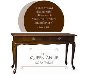 Queen Anne Sofa Table