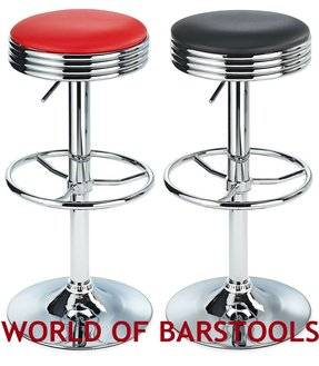 Incredible Red Retro Bar Stools Ideas On Foter Onthecornerstone Fun Painted Chair Ideas Images Onthecornerstoneorg
