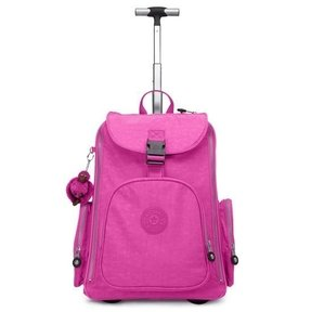 Rolling backpack for girl