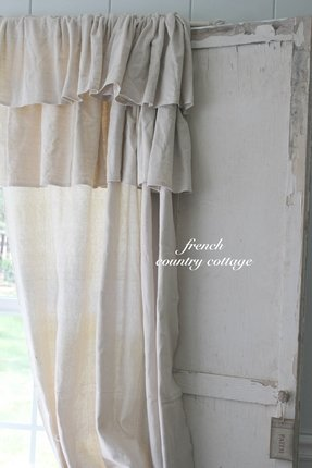 Ruffle blackout curtains
