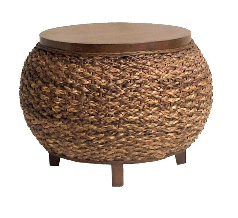 Seagrass Coffee Table Round