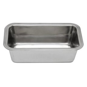 Stainless steel bread pans