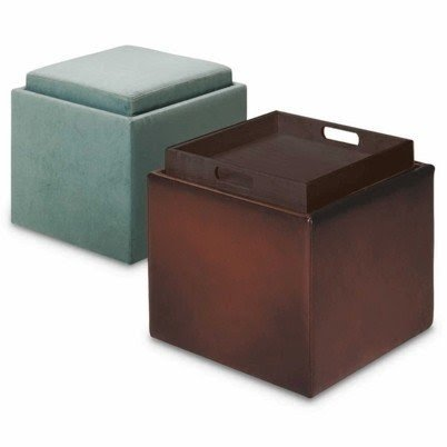 Storage ottoman cube with tray  sc 1 st  Foter & Storage Ottoman Cube With Tray - Foter