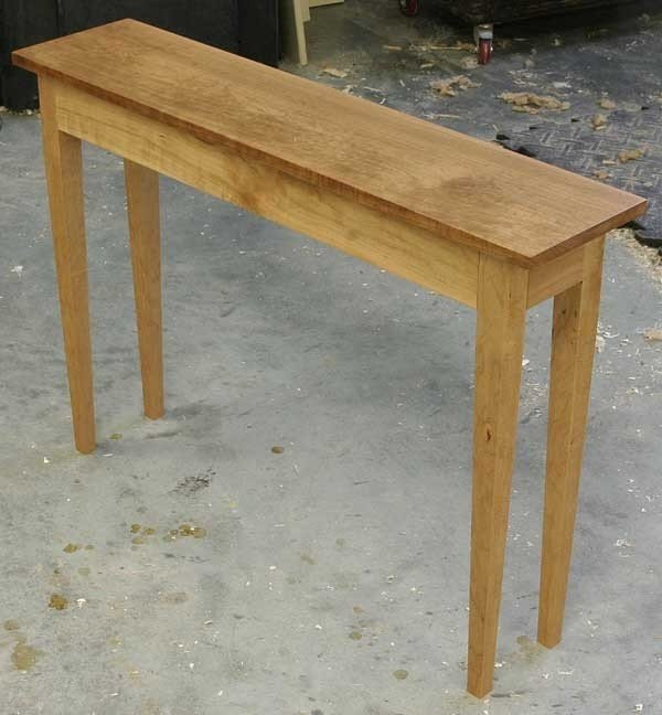 Thin End Table
