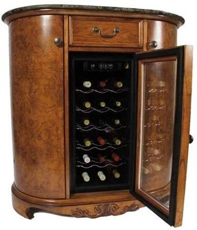 Bar Cabinet With Wine Cooler Foter