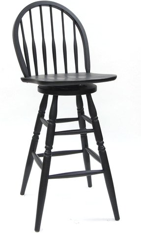 Surprising Black Windsor Bar Stools Ideas On Foter Ocoug Best Dining Table And Chair Ideas Images Ocougorg