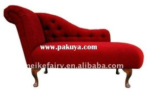 Distinctive Red Chaise Lounge Mf3007