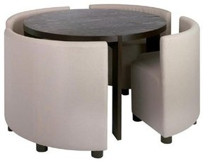 Dwell round dining table set