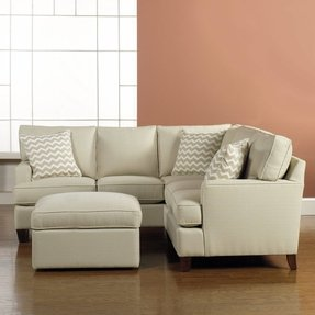 High Legged Corner Sofa For Small Es