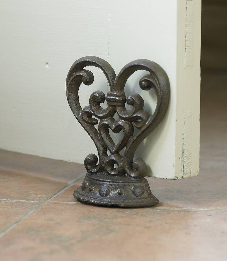 Out Some Beautiful Decorative Wrought Iron Door Stoppers Pictures Here