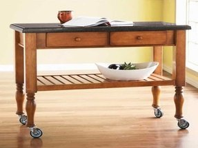 Side Tables On Wheels