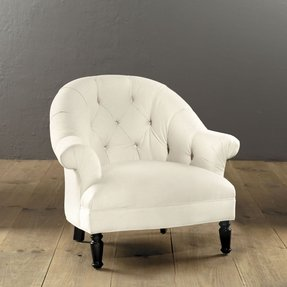 Small Upholstered Armchair - Foter