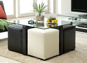 Coffee Tables With Seating Underneath Foter