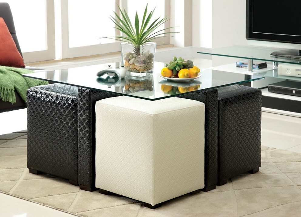 Square Coffee Table With Stools Underneath Download Page Best