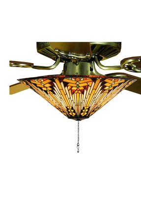 Stained glass ceiling fan light shades foter stained glass ceiling fan shades 3 aloadofball Image collections