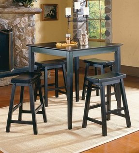 Table height stools kitchen