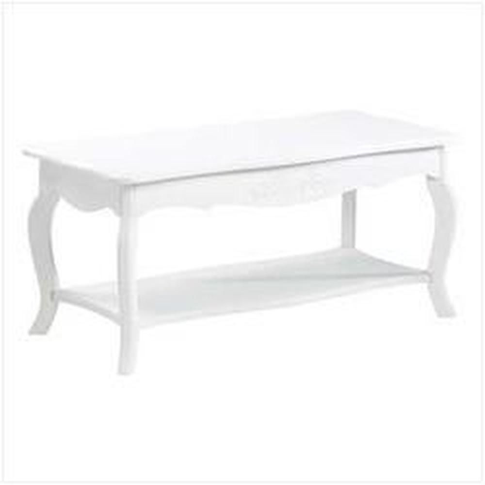 White Cottage Style Coffee Table